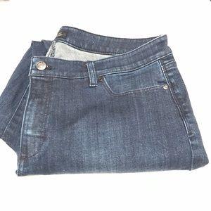 Talbot Flawless Five Pocket Curvy slim ankle jeans